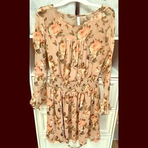 Xhilaration Floral Dress Women's Medium